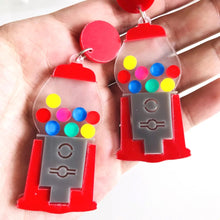 Load image into Gallery viewer, Gumball Machine Earrings - Vivacious Vixen Apparel