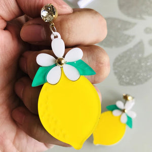 Lemon Earrings - Vivacious Vixen Apparel