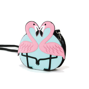 Flamingo Love Mini Bag - Vivacious Vixen Apparel