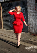 Load image into Gallery viewer, Aurora Reversible Dress in Red - Vivacious Vixen Apparel