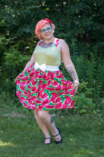 Wendi Dress in Watermelon - Vivacious Vixen Apparel