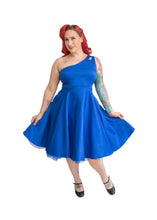 Load image into Gallery viewer, Adrianna Dress in Blue