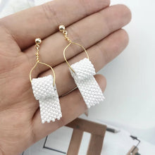 Load image into Gallery viewer, Pearl Toilet Paper Earrings - Vivacious Vixen Apparel