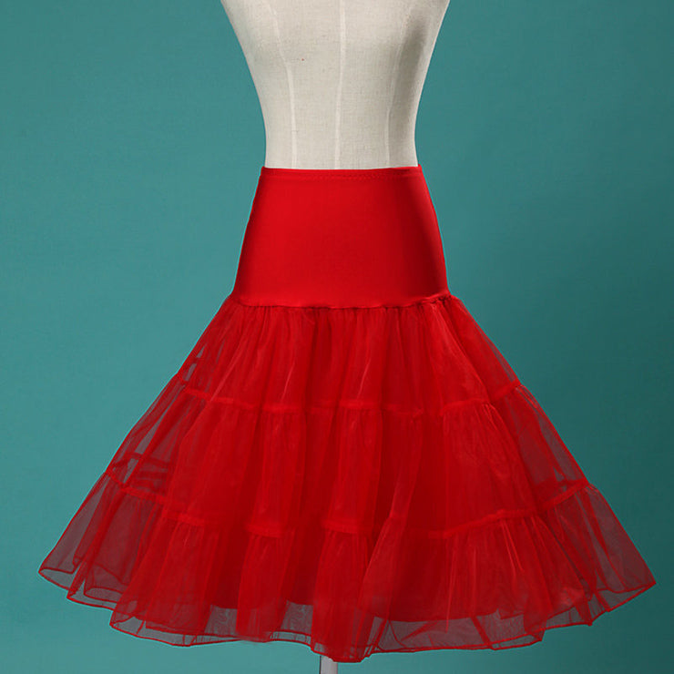 Red Petticoat - Vivacious Vixen Apparel