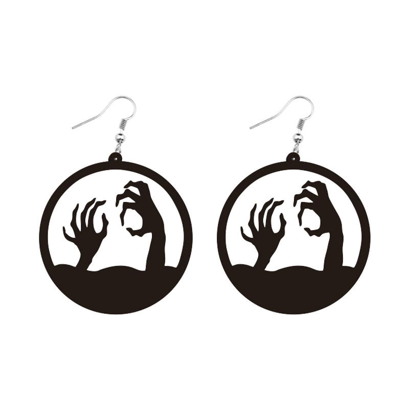 Zombie Earrings