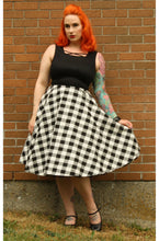 Load image into Gallery viewer, Dee Dee Dress In Checker Print - Vivacious Vixen Apparel