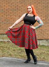 Load image into Gallery viewer, Dee Dee in Red Plaid
