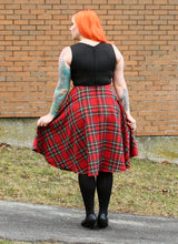 Load image into Gallery viewer, Dee Dee in Red Plaid - Vivacious Vixen Apparel