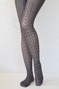 Knitted Style Tights - Vivacious Vixen Apparel