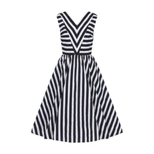 Load image into Gallery viewer, Joanie Striped Swing Dress