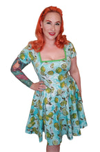 Load image into Gallery viewer, Kirby Dress in Lime Print