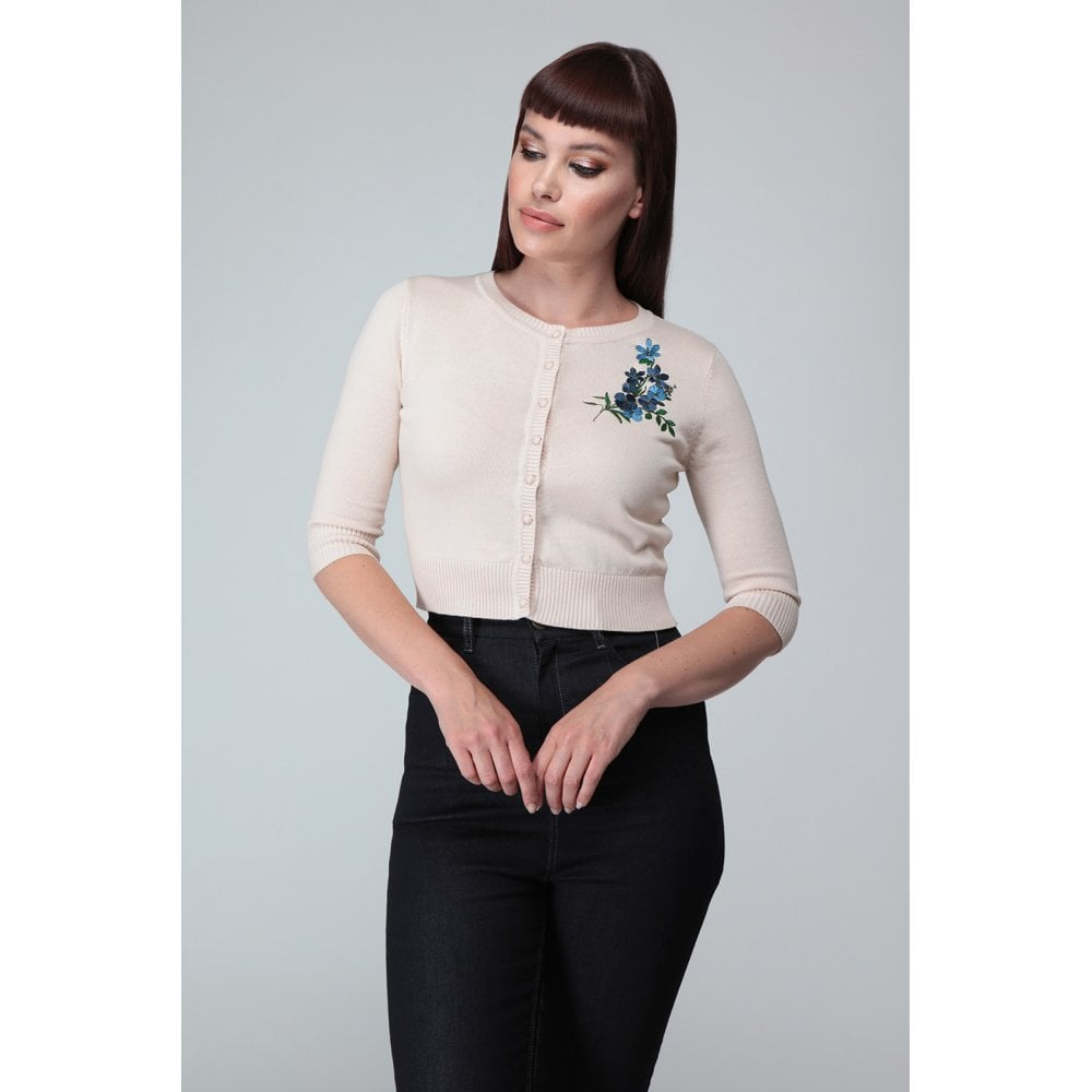 Lucy Forget Me Not Cardigan - Vivacious Vixen Apparel