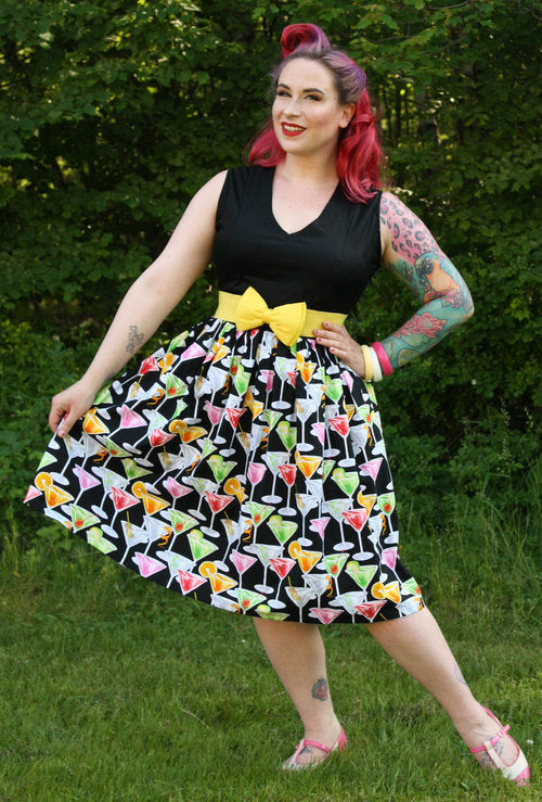 Martini Madness Dress - Vivacious Vixen Apparel