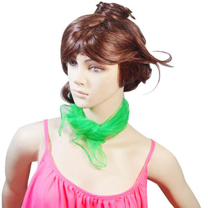 Green Hair Scarf - Vivacious Vixen Apparel