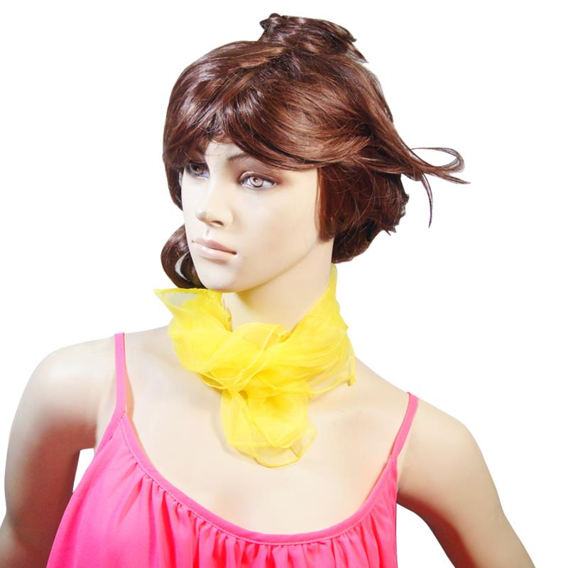 Yellow Pinup Hair Scarf - Vivacious Vixen Apparel