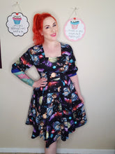 Load image into Gallery viewer, Ella Dress in Space Print
