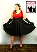 Load image into Gallery viewer, Cutie Pie Suspender Skirt - Vivacious Vixen Apparel