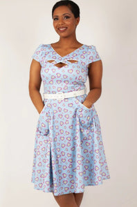 Sweet Hearts Dress - Vivacious Vixen Apparel