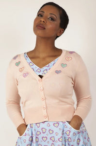 Sweet Heart Cardigan - Vivacious Vixen Apparel