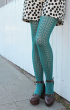 Load image into Gallery viewer, Knitted Style Tights - Vivacious Vixen Apparel