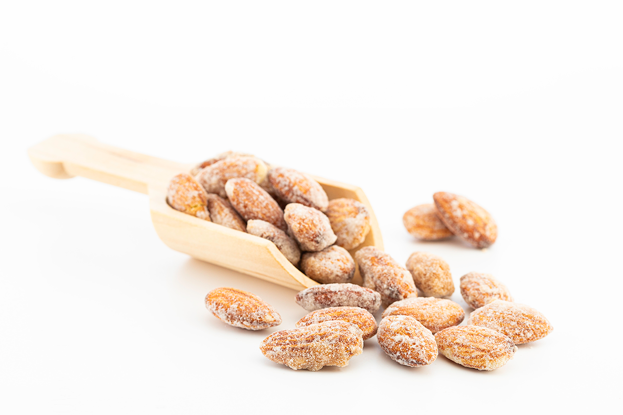 Caramelized Coconut Almonds