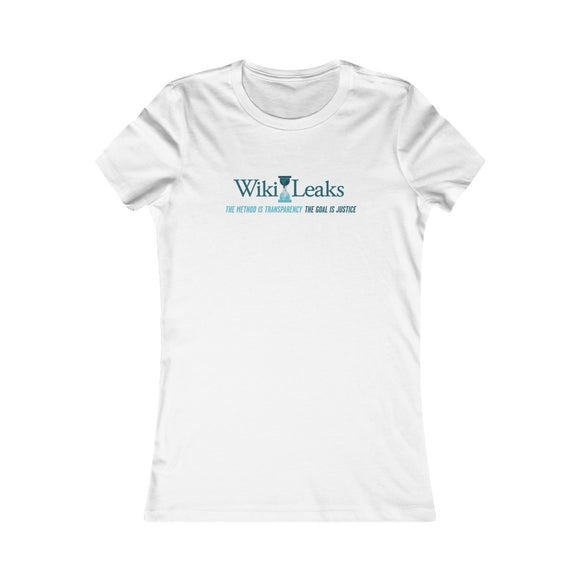 WikiLeaks Supporters - Women's Slim Tee