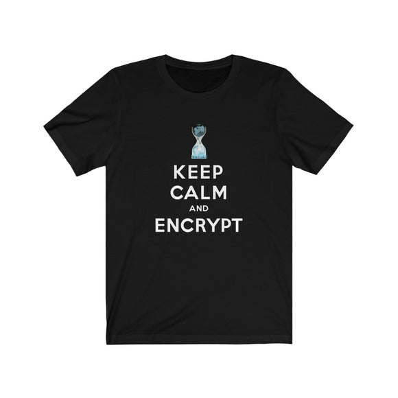 WikiLeaks - Keep Calm and Encrypt - Premium Fitted Tee