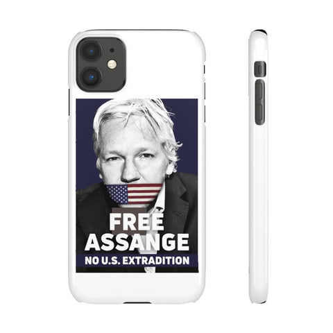 Free Assange - No U.S Extradition - Phone Case