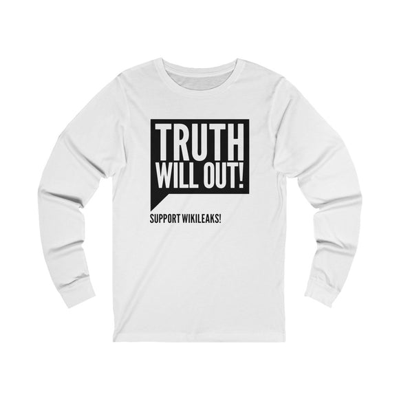 Truth will Out - Unisex Long Sleeve Tee