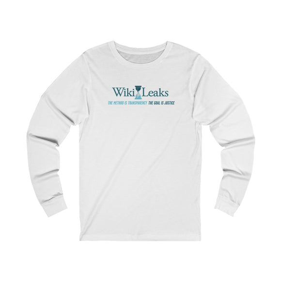 WikiLeaks Supporters - Unisex Long Sleeve Tee