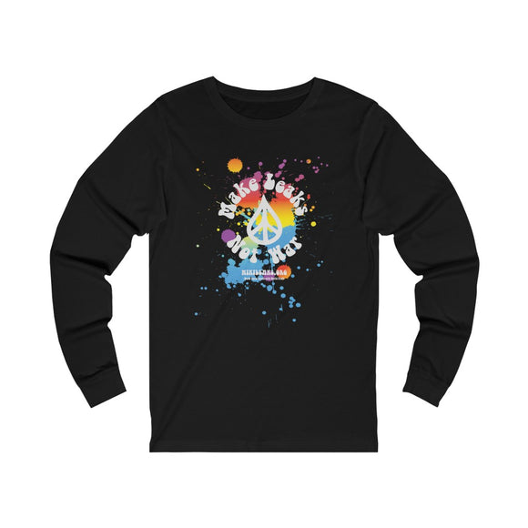 Make Leaks Not War - WikiLeaks - Unisex Long Sleeve Tee