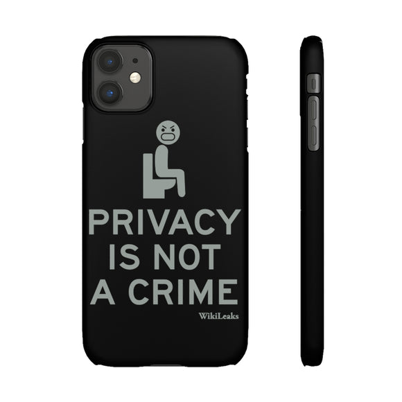 Privacy is Not a Crime - WikiLeaks - Slim Phone Cases