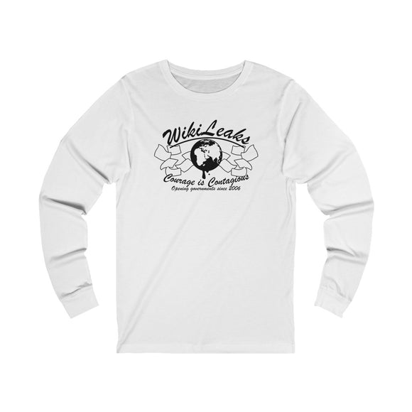 WikiLeaks - Opening Governments Since 2006 - Unisex Long Sleeve Tee