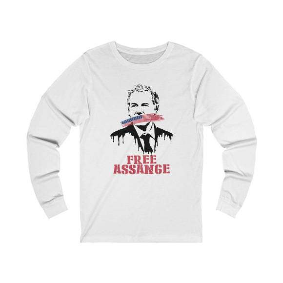 Free Assange Leak - Unisex Long Sleeve Tee