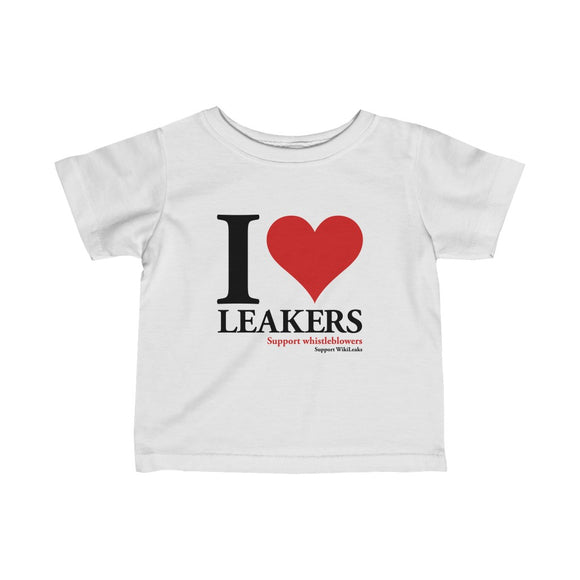 I Love Leakers - Infant Fine Jersey Tee