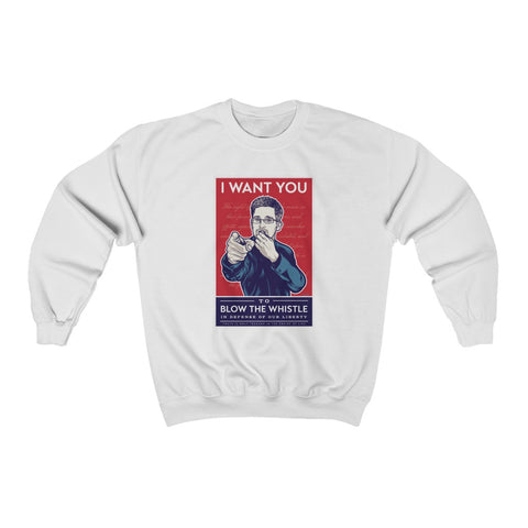 Blow the Whistle - Unisex Crewneck Sweatshirt