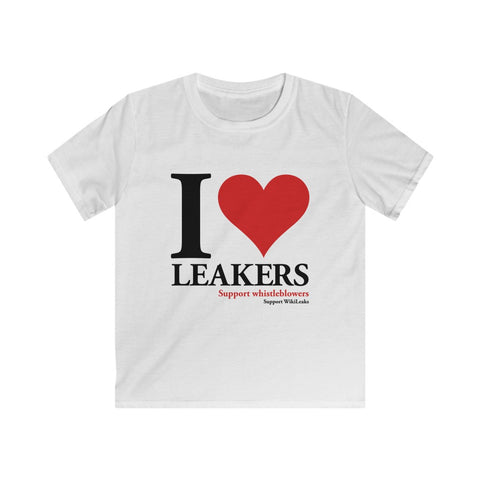 I Love Leakers - Kids Softstyle Tee