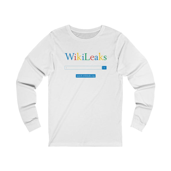 WikiLeaks Search - Unisex Long Sleeve Tee