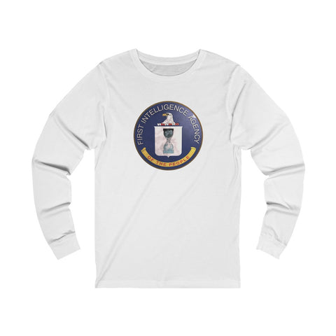 First Intelligence Agency of the People - Unisex Long Sleeve Tee