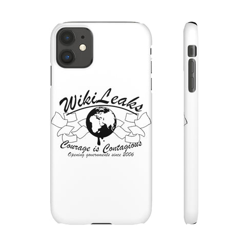 WikiLeaks - Opening Governments Since 2006 - Slim Phone Cases