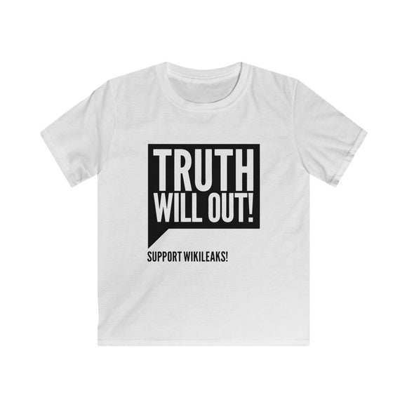 Truth Will Out - Kids Softstyle Tee