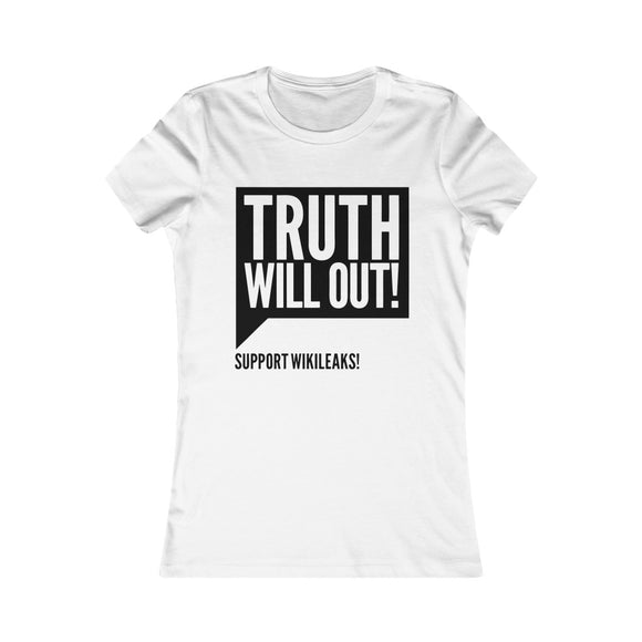 Truth Will Out - Women's Slim Tee