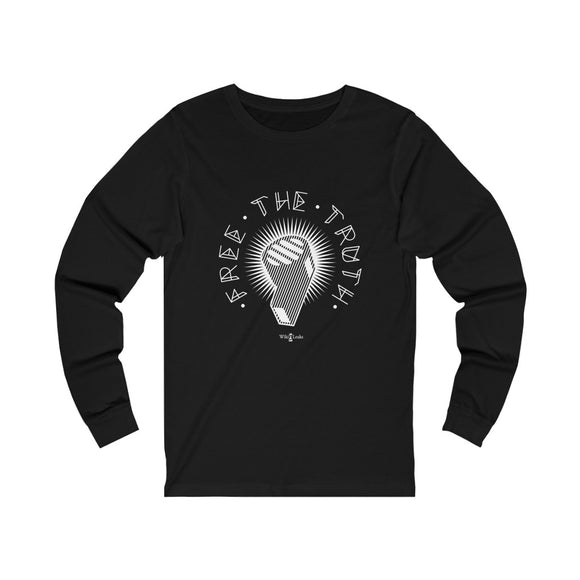 Free the Truth - WikiLeaks - Unisex Long Sleeve Tee