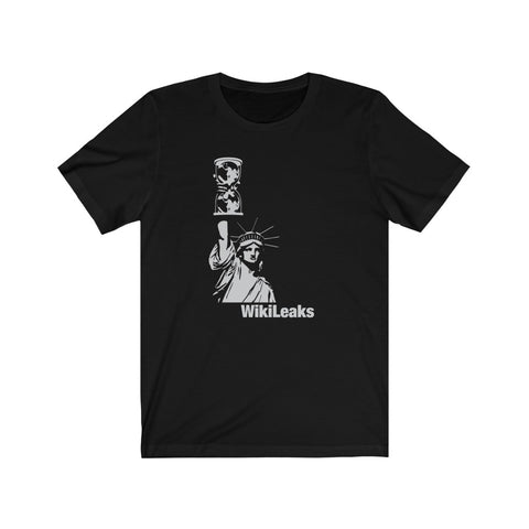 WikiLeaks Liberty - Premium Fitted Tee