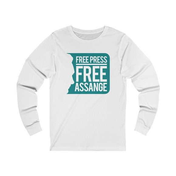 Free Press - Free Assange - Unisex Long Sleeve Tee