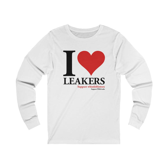 I Love Leakers - Unisex Long Sleeve Tee