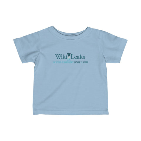 WikiLeaks Supporters - Infant Fine Jersey Tee