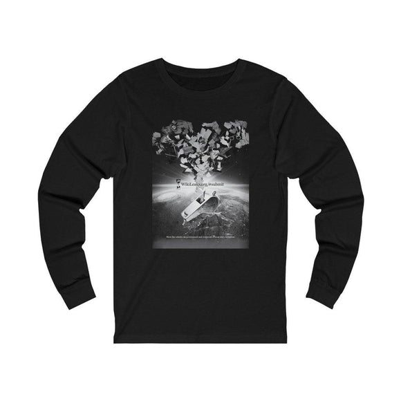 Blow the Whistle #Submit - Unisex Long Sleeve Tee