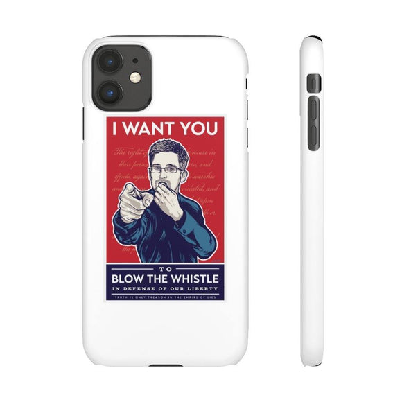Blow the Whistle - Slim Phone Cases