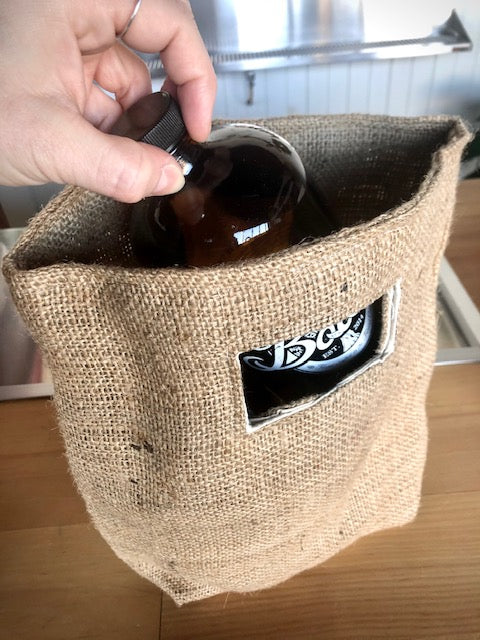 Load image into Gallery viewer, Hand-Made Jute Bags
